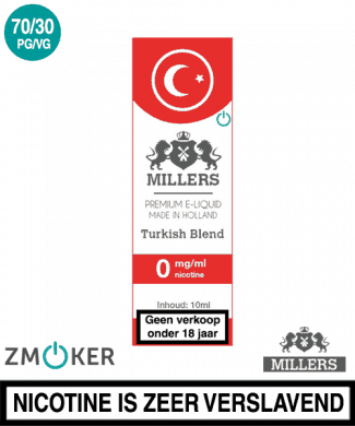 Millers Juice Turkish blend