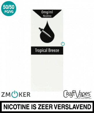 Craft Vapes Tropical Breeze