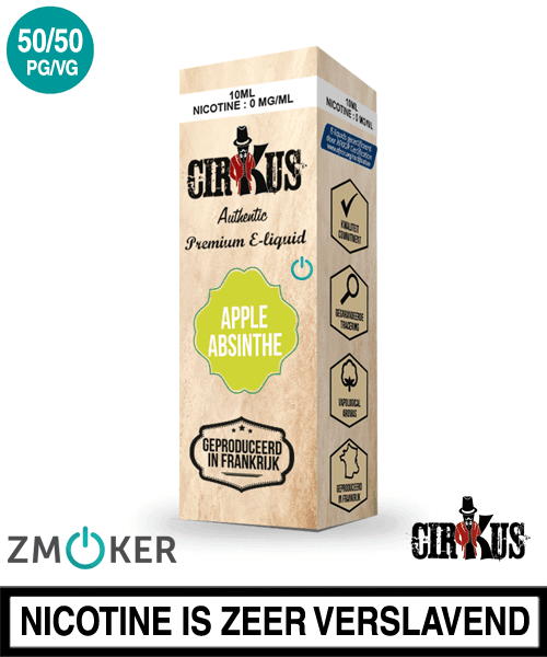 E-liquid Authentic Cirkus Apple Absinthe