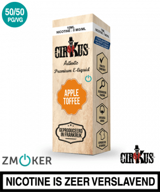 E-liquid Authentic Cirkus Apple Toffee