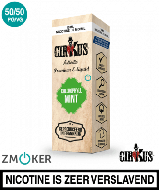 E-liquid Authentic Cirkus Chlorophyll Mint