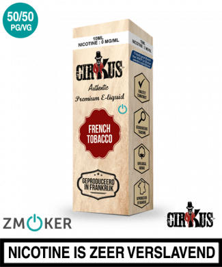 E-liquid Authentic Cirkus French Tobacco