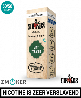 E-liquid Authentic Cirkus Mint Tobacco