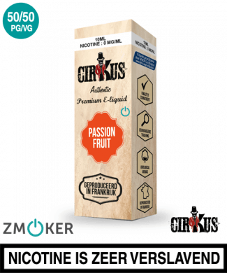 E-liquid Authentic Cirkus Passion Fruit