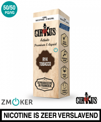 E-liquid Authentic Cirkus RY4 Tobacco
