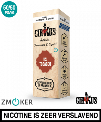 e-liquid Authentic Cirkus US Tobacco